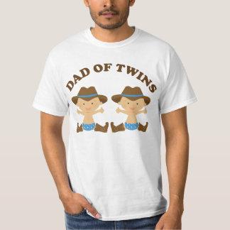 Pappa av twillingarfars dagT-tröja T Shirt