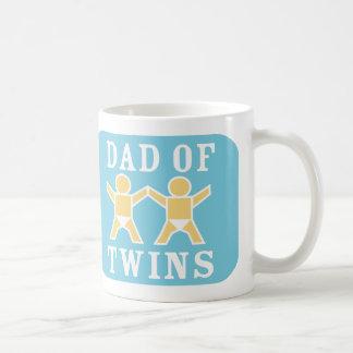 Pappa av twillingarmuggen kaffemugg