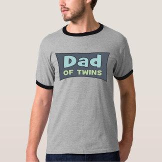 Pappa av twillingarT-tröja T Shirt