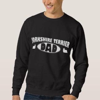 Pappa för Yorkshire Terrier Lång Ärmad Tröja