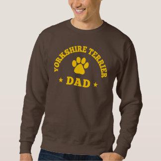Pappa för Yorkshire Terrier Långärmad Tröja