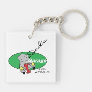 Pappa garage Keychain