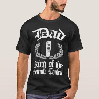 Pappa - kung av fjärrkontrolltshirten t shirt
