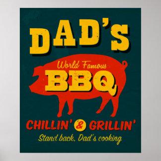 Pappa matlagning poster