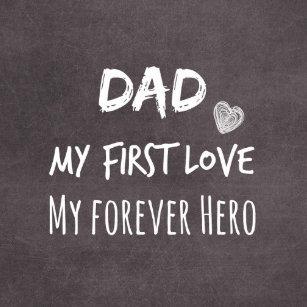 Pappa- och dottercitationstecken  Första kärlek f6c831b1190b1