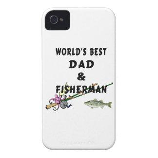 Pappa och fiske iPhone 4 case