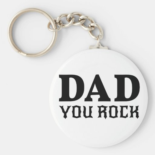 Pappa som du vaggar, textdesign för fars dag nyckel ring