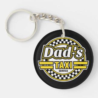 Pappa taxi tjänste- - gåvan för pappa - Keychain