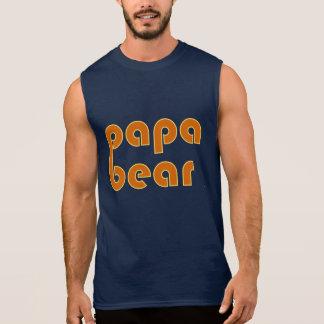 Pappabjörn (orangen) sleeveless tröja