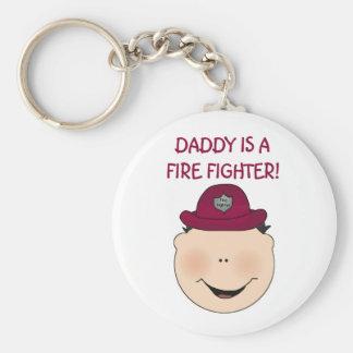 Pappan är en avfyrakämpe rund nyckelring