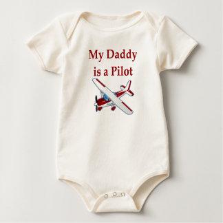 Pappan är en pilot- bebist-skjorta body