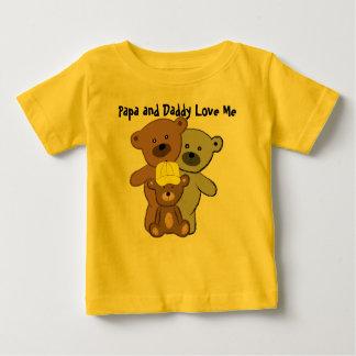 Pappan och pappan älskar mig t-shirt