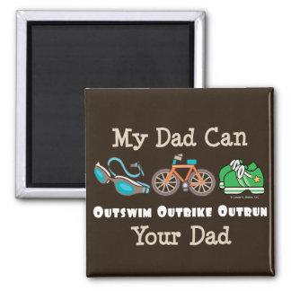 Pappan Outswim den Outbike sprang om Magnet