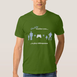 Pappan undervisar… videogames tee