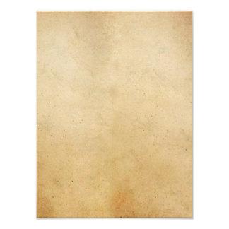 Papper antik guld- Parchmentbakgrund för vintage Fototryck