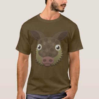 Papper bältdjur t-shirt