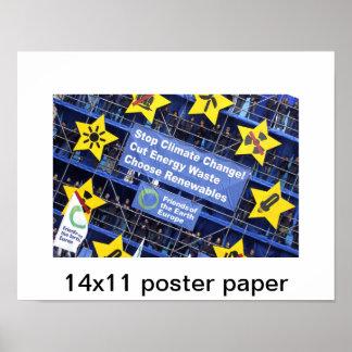 papper för affisch 14x11
