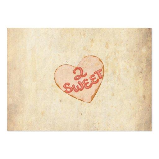 Papper för antikvitet för Retro älskling för vinta Visitkort Mall
