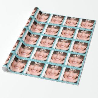Papper för gåva för 16 foto för personligstudenten presentpapper
