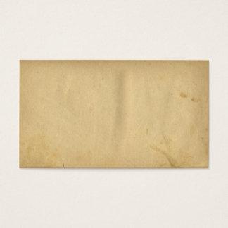 Papper för gult för nödläge för visitkort