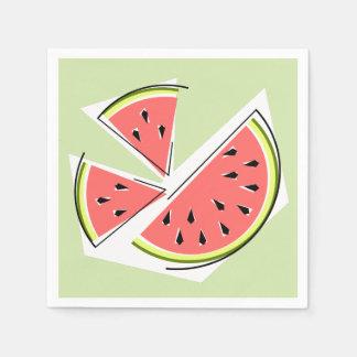 Papper för servetter för vattenmelongröntdelar