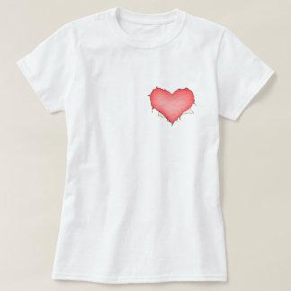 Papper hjärta t-shirt