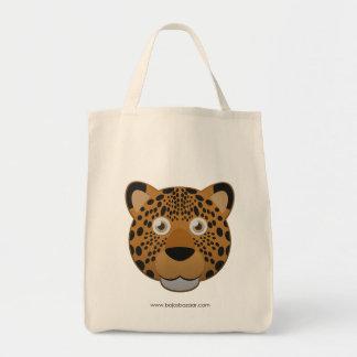 Papper Leopard Tote Bags