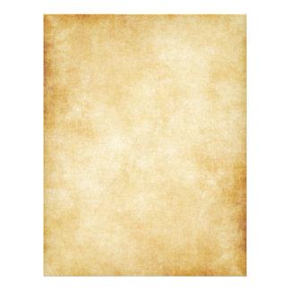Papper mallbakgrund för Parchment Reklamblad