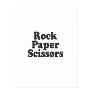 Papper sax för sten vykort