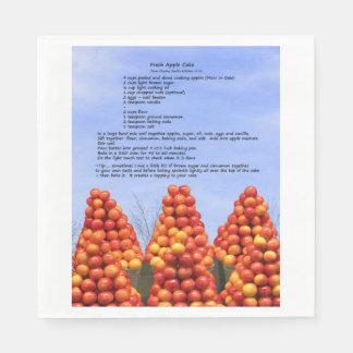 Pappersservett för Apple tårtarecept