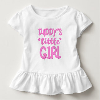 Papporliten flicka t-shirt