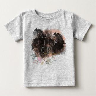 Papporliten flickaskjorta t-shirts