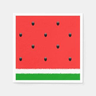 Pappra napkins. för vattenmelon papper servetter