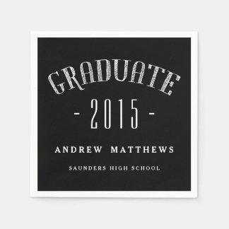 Pappra servetter 2015 för Retro manligstudenten