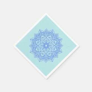 Pappra servetter för Mandala