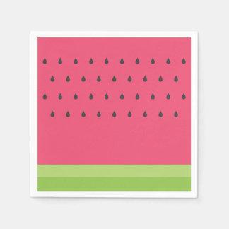 Pappra servetter för vattenmelon