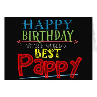 Pappy födelsedagkort hälsningskort