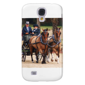 Para av Warmblood hästar Galaxy S4 Fodral