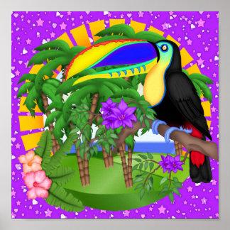 Paradisaffisch Poster