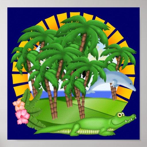 Paradisaffisch - SRF Affisch