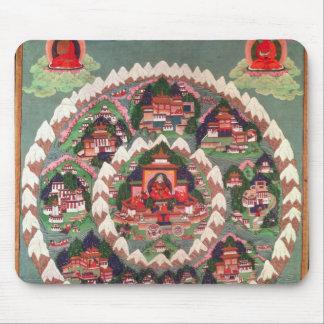 Paradiset av Shambhala, tibetant baner Musmatta