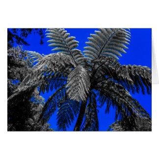 Paradisfernträd Hälsningskort