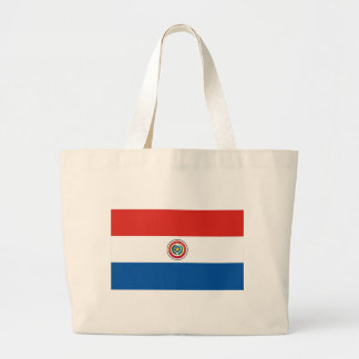Paraguay flagga jumbo tygkasse