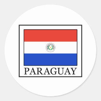 Paraguay Runt Klistermärke
