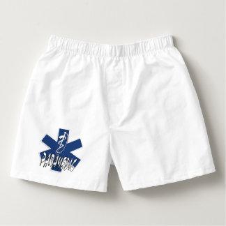 Paramedicinsk aktivstjärna för EMS av liv Boxers