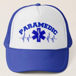 Paramedicinsk hjärta övervakar locket keps