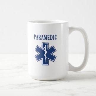 Paramedicinsk stjärna av liv kaffemugg
