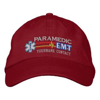Paramedicinsk stjärna för personlig EMT av liv Broderad Keps