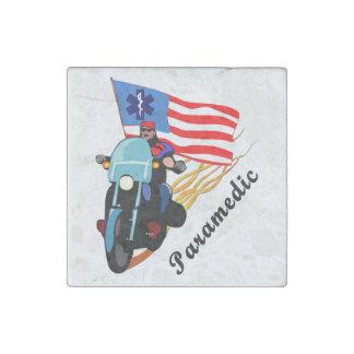 Paramedicinska biker stenmagnet