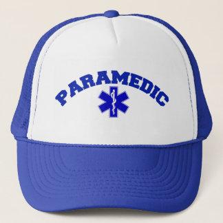 Paramedicinskt lock truckerkeps